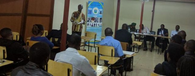 JKUAT student & Management attend Heroes day  in Public talk