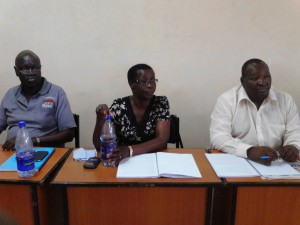From left: Dr. Oyugi, Centre: Dr. Memba, Right: Dr. Muturi