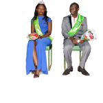The Crowned Mr and Miss JKUAT KISII CBD for the year 2015/2016