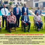 Visit by the University Council at Kisii CBD