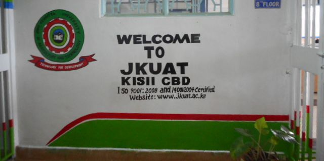 Welcome to JKUAT Kisii CBD and stay on board.