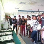 Students Visiting Taifa Laptop Assembly Plant