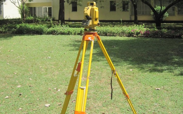 One of Topcon Total Stations in the department.