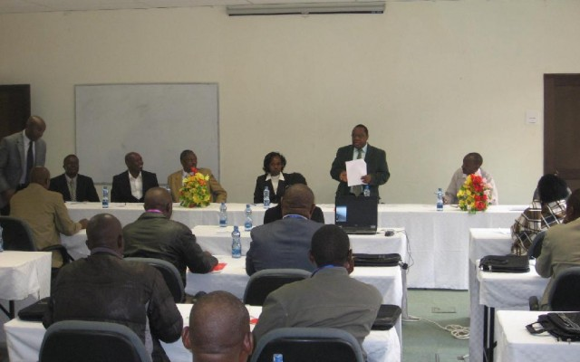 Official opening of Smallholder Dairy Commercialization Programme GIS training.
