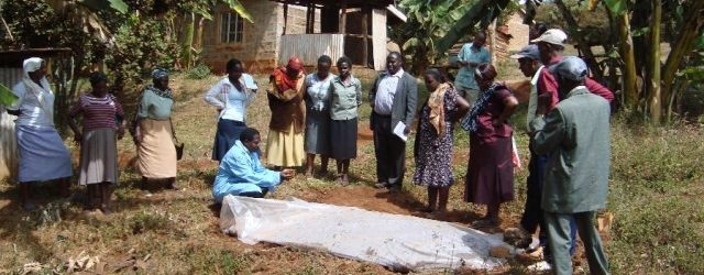 Nursery owners learn soil sterilisation techniques