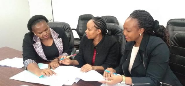 HR officers in one of the consultative meetings