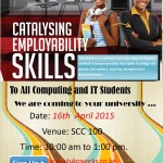 Microsoft's TukoWorks – Catalysing Employability Skills @ JKUAT Thursday 16th April 2015