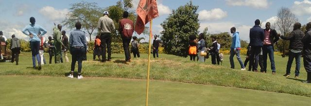 Students on academic trip visit to Thika Greens Golf Club