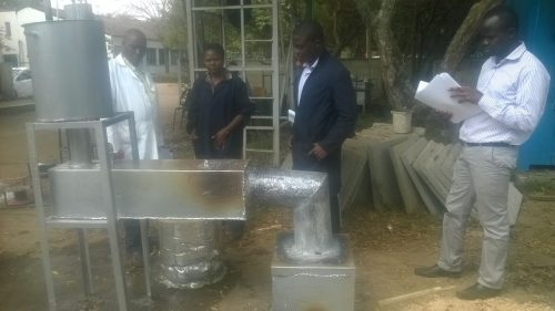 Efficient Energy Recovery from a Small Scale Incinerator for Water Heating project done by Dennis Sichangi & Christine Musyoka