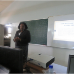 Staff Members and Post Graduate Students Trained on Library E-Resources
