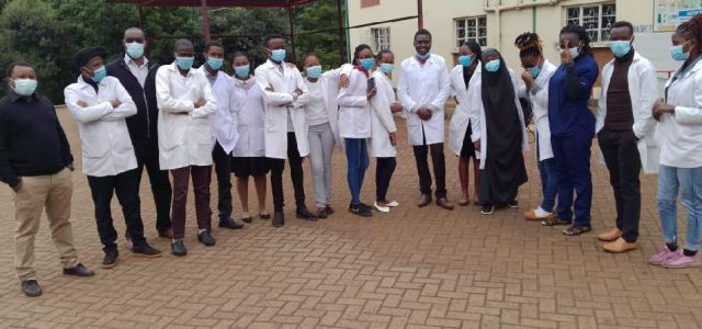 School of Nursing Students' Factory Visit at Gachege Tea Factory in Gatundu North for Community Health Experience