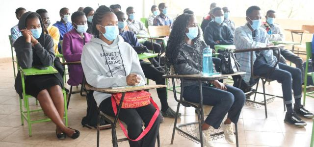 BSc Nursing Students During Orientation on 10th Sept 2021