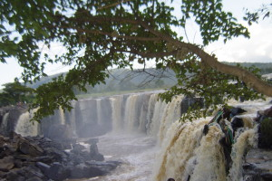 The fourteen falls in the Athi River; a tourism attraction just outside Thika town