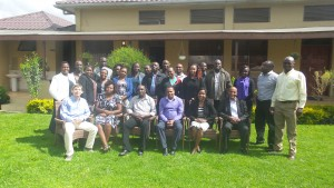 Plate 3: Group photo of the training participants