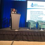 WARREC Director makes Keynote Presentation at the World Bank Water Week in Washington DC, USA