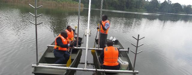 Launch of the Bathymetric survey at Ruiru Dam
