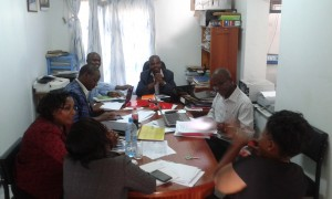 The PCD Team and the DiPCA Team undertake evaluation of JKUAT's performance indicators