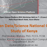A case study of Kenya's open data