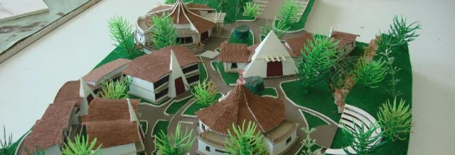 A structural model designed by a SABS student