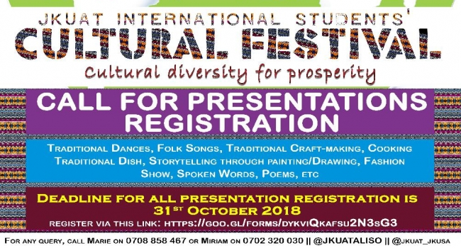 Register through the link provided or follow us on Twitter for more updates.