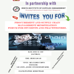 Sensitization Forum for Students and Practitioners in Procurement & Supply Chain Management