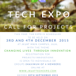 CALL FOR PROJECTS – JKUAT Tech Expo 2015