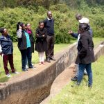 2nd cohort of the UTNWF fellowship awardee gets acquainted to the project sites in the Upper Tana