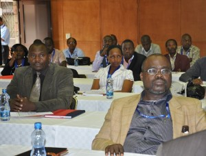Participants keenly follow conference proceedings