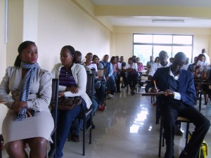 Students and staff follow Ombudsman procceedings keenly