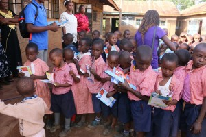 It is all joy as the pupils display some