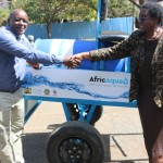 Student Designed Donkey Cart Unveiled During World Water Day