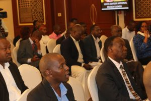 A section of the audience following proceedings during the launch