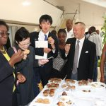 Young Africans & Japanese Demonstrate Innovative Knack