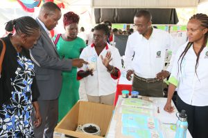 council-chair-prof-kanyari-and-council-member-ms-dena-at-the-edible-insects-stand