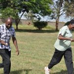 School of Biological Sciences Holds Team Building Exercise