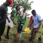 JKUAT Students lauded for tree planting