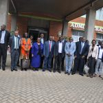Powerful Team of State Officials Tour JKUAT Laptop Assembly Plant