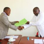 Dr. Muya Hands over the Biological Sciences Deanship