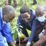 Kenya Air Force and JKUAT Plant Trees to Support Afforestation