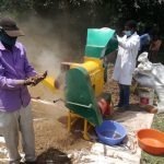 JKUAT, KALRO Develop a Finger Millet Threshing Machine